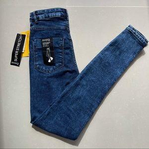NWT Divided H&M Super Stretch Jeans